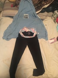 Love pink hoodie Victoria's Secret.Also comes with brand new Victoria's Secret Yoga pants  Germantown, 20876