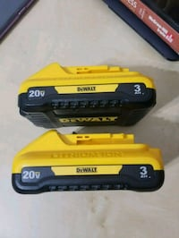 2 Dewalt 20v battery 3.0 Arlington, 22204