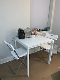 Ikea dining table with 2 chairs Baltimore, 21202
