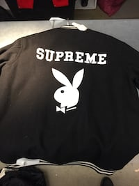 Supreme 2011 x Playboy Collaboration Varsity Wool Jacket Size L  New York, 11234