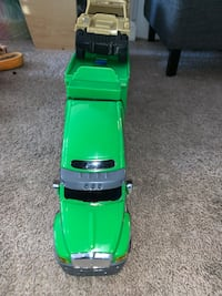 green and black plastic toy car Woodbridge, 22191