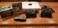 Crystal Xbox + games and controllers