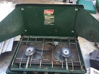 Black and green coleman gas grill Halfmoon, 12065
