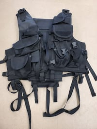 Tactical floatation vest, weighted vest, paint ball