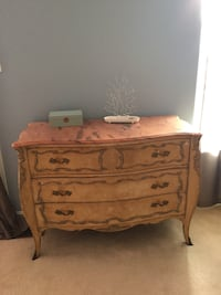 Marble Top 3-Drawer Dresser Gaithersburg, 20879