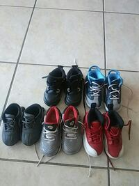 six pairs of assorted shoes Miami, 33169