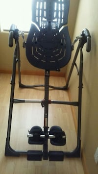 black and gray inversion table