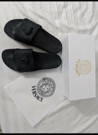 Versace slides for sale asap with receipt  Mississauga, L5L 1J4