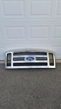 Ford Super Duty Chrome Grille