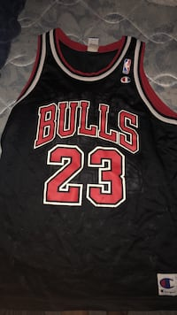 black and red Chicago Bulls 23 jersey Edmonton, T6T 1T9