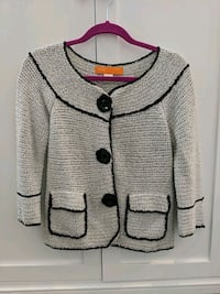 Beautiful sweater/cardigan by Cynthia Steffen size M