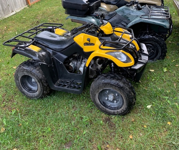 Four Wheelers For Sale Cheap Near Me >> 2 Four Wheelers And Trailer
