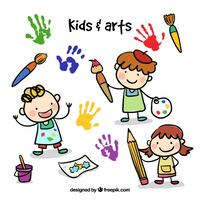 Art & craft classes for kids Sandefjord, 3208