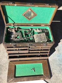 Antique Craftsman Machinist Toolbox, taps, dies and more South Portland, 04106