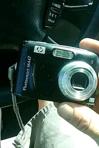 black Fujifilm point-and-shoot camera Mobile, 36693