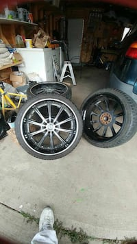 Rims and tires negociable