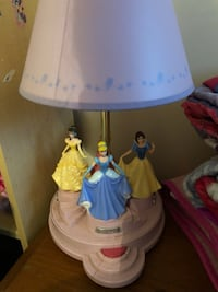 white and blue table lamp Statesville, 28625