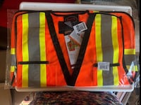 Traffic safety vest Mississauga, L5B