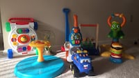 Baby and toddler toys all in a very good condition. All work great!