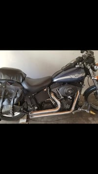 Black and gray touring motorcycle Los Angeles, 91401