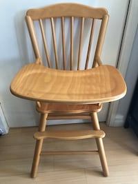 Brown wooden windsor rocking chair with no straps  Alhambra, 91803