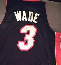 Autographed wade jersey