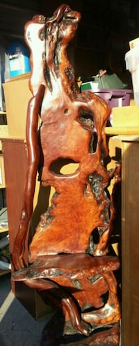Carved wood sculpture Vancouver, 98684
