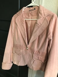 Women Velvet jacket size S/M Houston, 77056