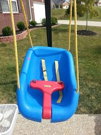 blue and red portable swing Louisville, 40245