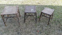 two brown wooden folding tables Delco, 28436
