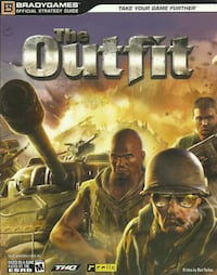 The Outfit BradyGames Official Game Strategy Guide Book! Newmarket