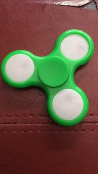 green and white fidget spinner Calgary, T2J 5X3