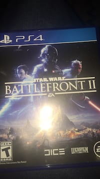 Brand new never touched playstation 4 starwars battlefront ll Syracuse, 13206