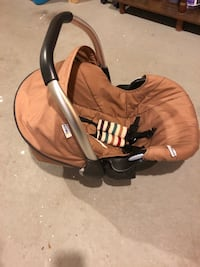 baby's brown and black car seat carrier Edmonton, T6K 2W8