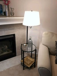 Side table with lamp new Calgary, T3M 1B3