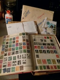 Stamp collection Montgomery, 60538