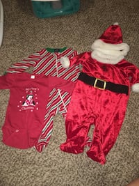 3-6 month Christmas outfits  Fountain, 80817