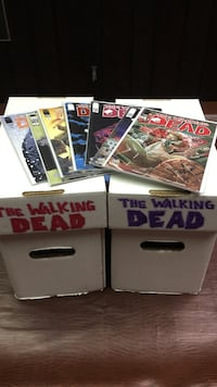 The Walking Dead Comic Lot Rockford, 61104