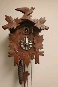 Antique 1950s German Hubert Herr Cuckoo Clock