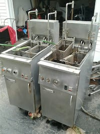 two stainless steel deep fryer Spencerport, 14559