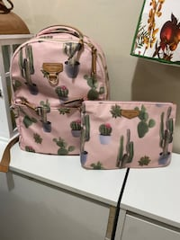 Twelvelittle cactus diaper  bag plus matching clutch  Toronto, M3N