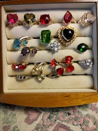 Costume jewelry gemstones and silver Norfolk, 23518