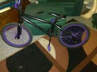 black and purple BMX bike Sarnia, N7S 1X2