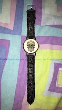 Sugar skull leather watch Lawrenceville, 30046