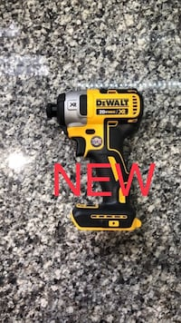 New Dewalt 20V MAX XR Brushless 3-Speed Impact Driver Tool Only