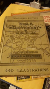 late 1800s bible dictionary and Benjamin Franklin biography