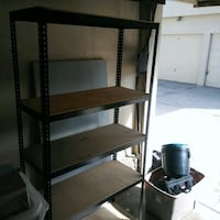 Shelving (two shelves stands)