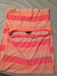 pink and white striped sleeveless dress Stafford, 22554