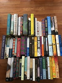 58 Hard/Soft Cover Books Herndon, 20170