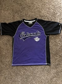 Vintage Colorado Rockies warm up Jersey Lakewood, 80228